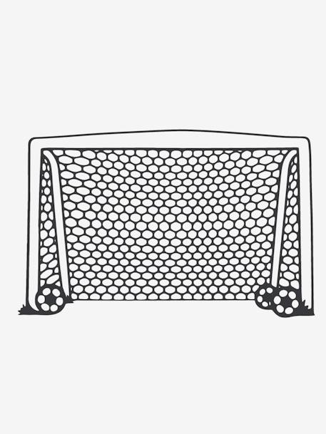 Football Goal Sticker WHITE LIGHT SOLID - vertbaudet enfant