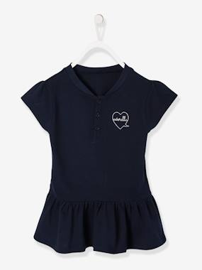 Nouvelle collection-Polo fille manches courtes
