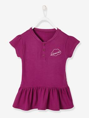 Girls-Tops-Short-Sleeved Polo Shirt for Girls