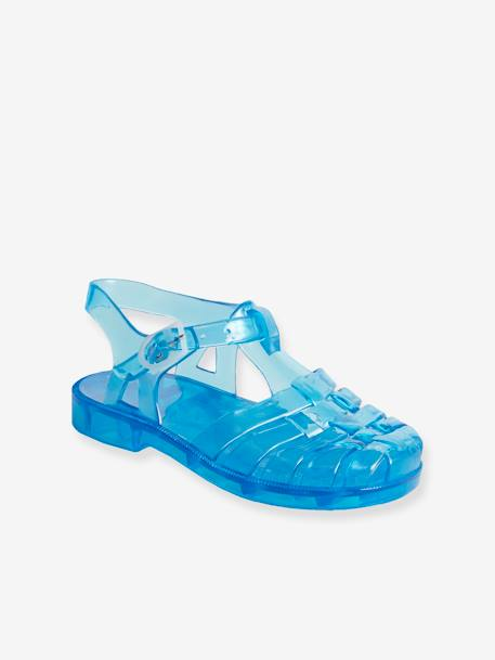 Baby Boys Plastic Sandals For The Beach Blue Medium Solid Shoes