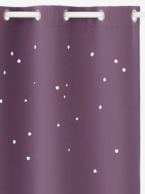 Bedding & Decor-Decoration-Hollow Star Curtain with Cat Head Cutouts