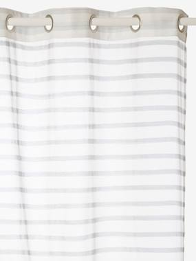 Outlet-Decoration-Striped Curtain