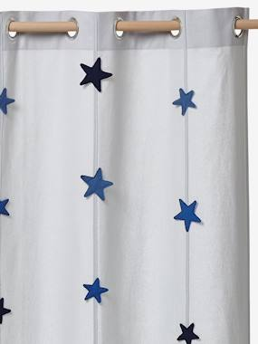 Vertbaudet Collection-Decoration-Boys Curtain, Adventurer Theme