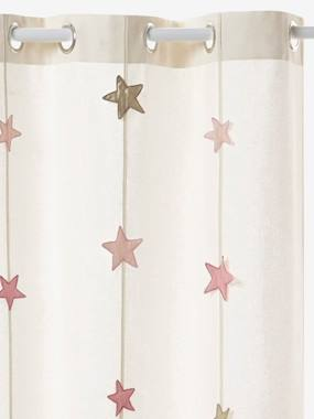 Vertbaudet Collection-Decoration-Iridescent Star Curtain