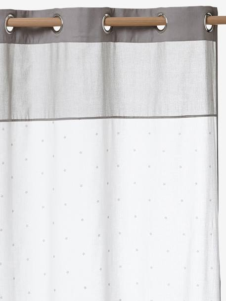 Star Curtain White/greige - vertbaudet enfant