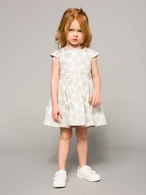 Party collection-Girls' Polka Dot Occasion Dress
