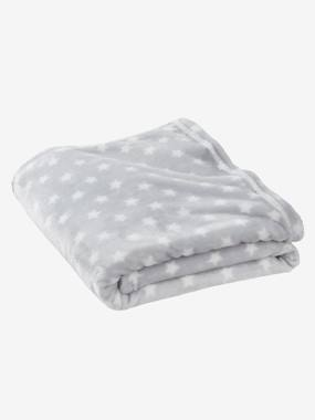 Bedding-Child's Bedding-Children's Microfibre Blanket, Star Print