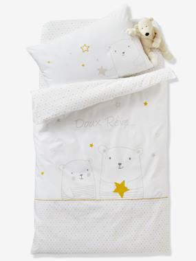 Bedding & Decor-Duvet Cover for Babies, Dreamin' of Stars Theme