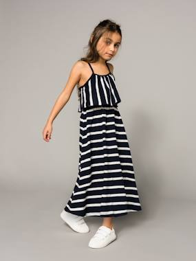 Outlet-Girls-Dresses-Girls' Long Dress