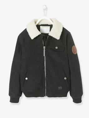 Boys-Coats & Jackets-Aviator Jacket for Boys