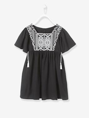 Outlet-Girls-Dresses-Embroidered Dress for Girls