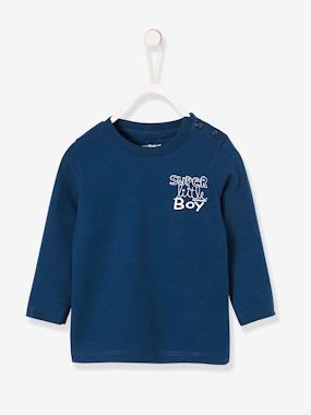Vertbaudet Collection-Baby-Baby Boys' T-Shirt with Graphic Print