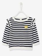 Jumper with Frill for Baby Girls  - vertbaudet enfant