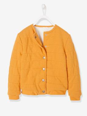 Vertbaudet Sale-Lined Fleece Cardigan for Girls