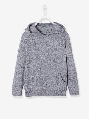 Vertbaudet Sale-Boys-Cardigans, Jumpers & Sweatshirts-Hooded Jumper for Boys