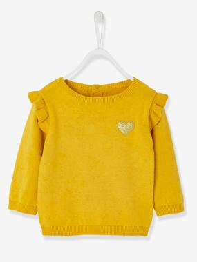 Winter collection-Baby-Jumper with Frill for Baby Girls