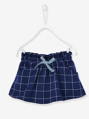 Schoolwear-Baby-Printed Fleece Skirt for Baby Girls