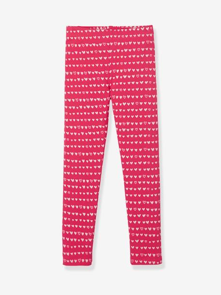 Lot de 3 leggings fille LOT ANTHRACITE+LOT BEIGE GRISE+LOT BLEU JEAN+LOT FRAISE+LOT ROUGE BRIQUE - vertbaudet enfant