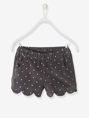 Dress myself-Corduroy Shorts for Girls