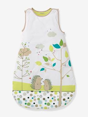 Bedding & Decor-Baby Bedding-Embroidered Sleeveless Baby Sleep Bag, Picnic Theme