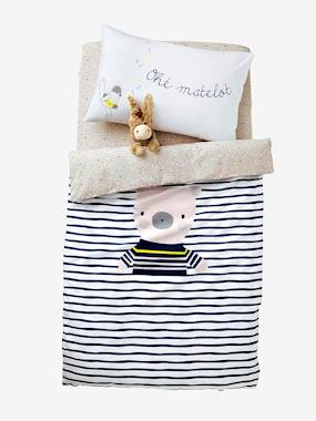 Bedding & Decor-Baby Bedding-Duvet Covers-Duvet Cover, Fun Sailor Theme