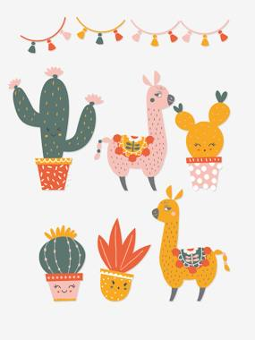 Vertbaudet Collection-Decoration-XL Stickers, Cactus Party