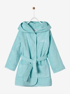 Customization - embroidery-Plain Bathrobe for Babies