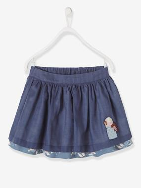 Vertbaudet Sale-Girls' Reversible Skirt