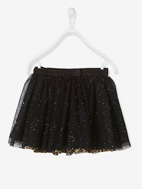 Vertbaudet Sale-Girls-Girls Glitter Skirt