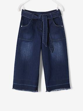 Winter collection-Girls-Jeans-Cropped Denim Trousers for Girls