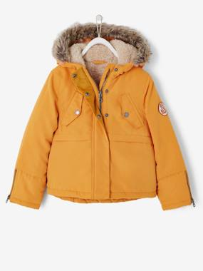 Mid season sale-Girls-Coats & Jackets-Parka with Plush Lining, for Girls