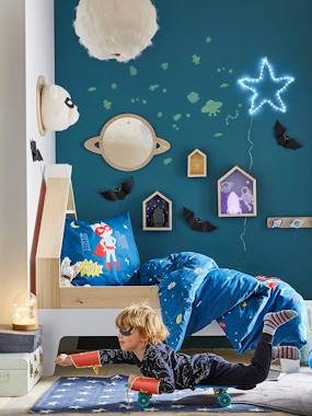 Vertbaudet Collection-Decoration-Glow-in-the-Dark Stickers, Constellation
