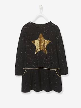 Vertbaudet Sale-Girls-Girls' Iridescent Dress