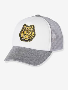 Boys-Cap with Mesh Fabric on the Back, for Boys