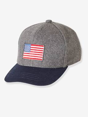 Vertbaudet Collection-Boys-Flag' Cap for Boys