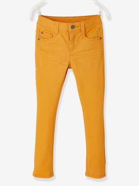 Vertbaudet Sale-Coloured Slim Leg Trousers for Boys