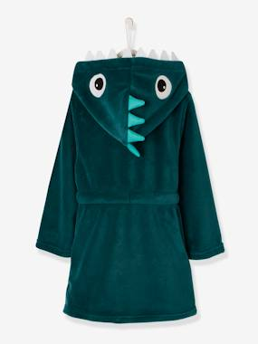 Vertbaudet Collection-Boys-Dinosaur Dressing Gown for Boys
