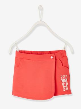 Vertbaudet Sale-Girls-Skirts-Fleece Skort for Girls