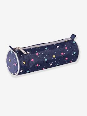 Girls-Accessories-School Supplies-School Pencil Case with Hearts for Girls