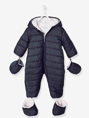 Vertbaudet Sale-Baby-Outerwear-Jumpsuit in Lightweight Material, for Babies