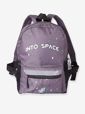 Vertbaudet Sale-Boys-Backpack for Boys, Into space