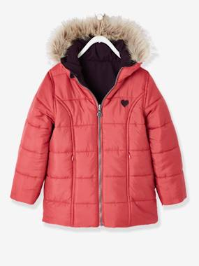 Outlet-Reversible Parka for Girls