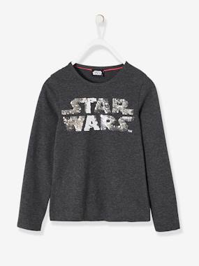 All my heroes-Girls-Star Wars® Top with Reversible Sequins for Girls