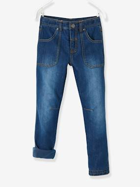 Indestructible Trousers-Boys-Indestructible Straight Leg Jeans for Boys