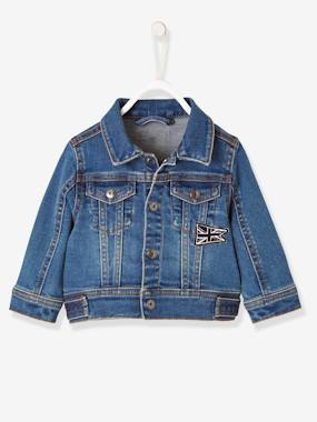 Schoolwear-Baby-Denim Jacket with Union Jack for Baby Boys