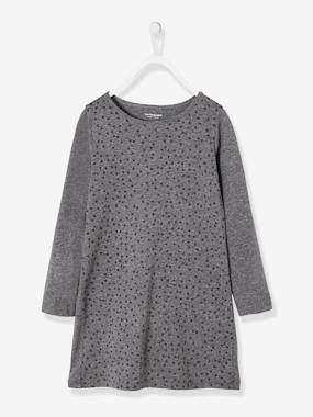 Vertbaudet Sale-Girls-Girls' Dress in Jersey Knit