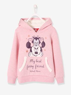 Minnie and Mickey-Minnie® Hooded Sweatshirt for Girls