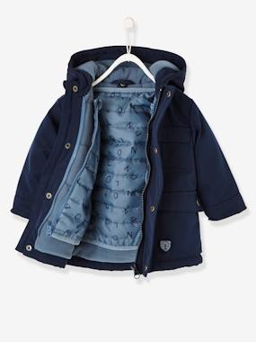 Winter collection-Baby-3-in-1 Progressive Parka for Baby Boys