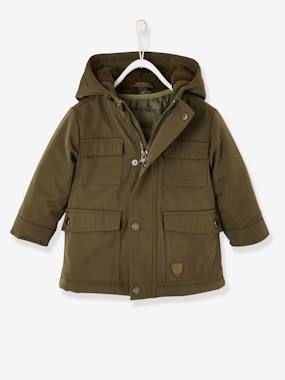 Baby-Outerwear-3-in-1 Progressive Parka for Baby Boys