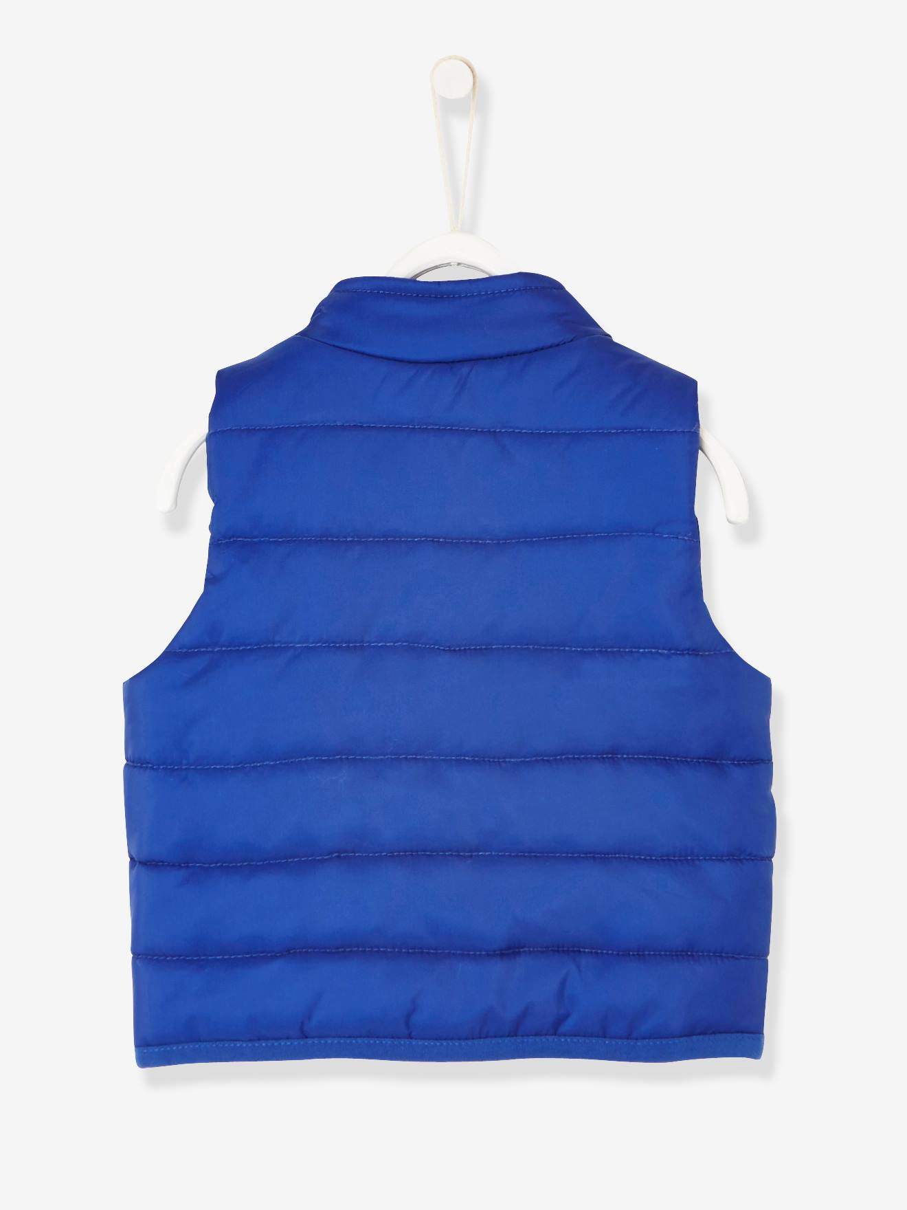 c6c2d80e7 Sleeveless Padded Jacket for Baby Boys - blue bright solid, Baby
